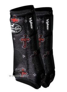 Prof Choice VenTECH Elite Splint Boots Crosses